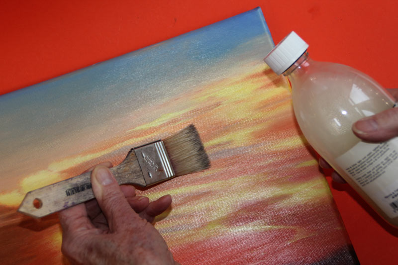 How to varnish your paintings