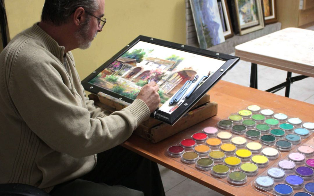 Improve your paintings with online workshops– Johannes Vloothuis