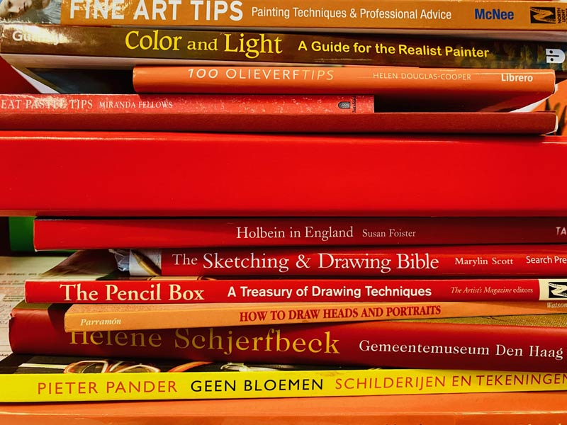 Top 10 art books on acrylic paint