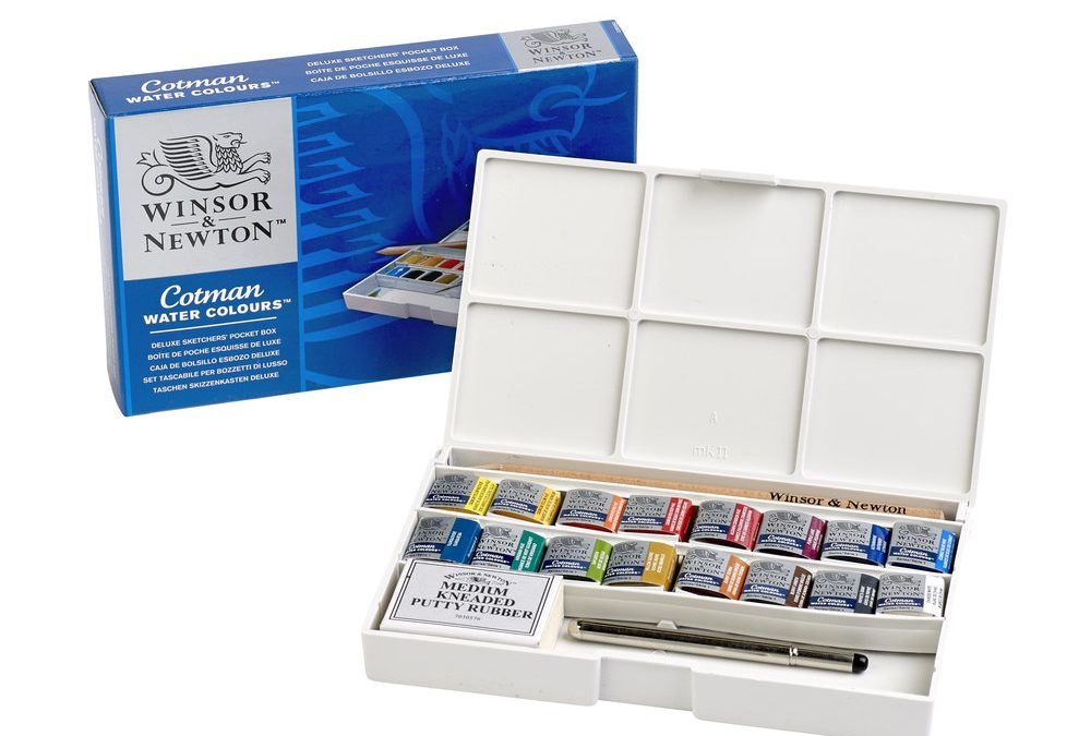 Winsor & Newton Artisan watercolor 10x37ml set