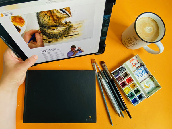 Learn new art skills from the best online art instructors in the world